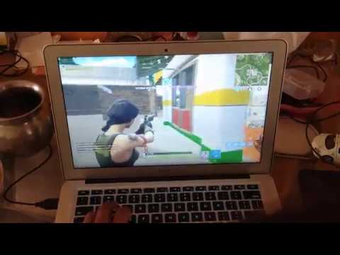 FOrtnite Gameplay On Macbook Air2017!!!!
