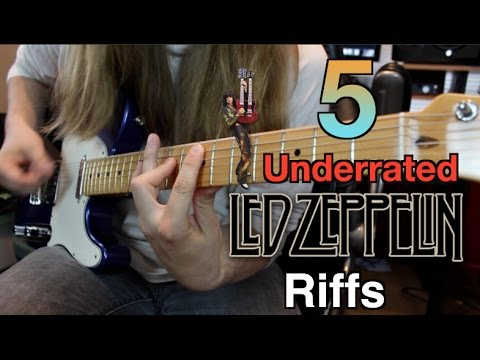 5 Underrated Led Zeppelin Riffs and How To Play Them ( With Tabs)