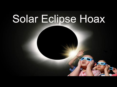Solar Eclipse Hoax - Exposing the Global Lies from God's Enclosed Flat Earth System