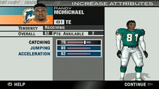 Training camp - Madden 2004 Dolphins Franchise