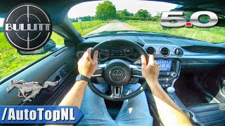 NEW! FORD MUSTANG BULLITT 5.0 V8 POV Test Drive by AutoTopNL