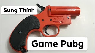 PUBG: Khám Phá Súng Thính Ngoài Đời Thật |Flare Gun|