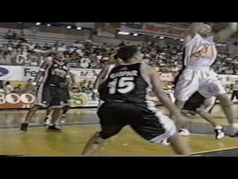 MBA Nueva Ecija vs  Manila regular season the year 2000