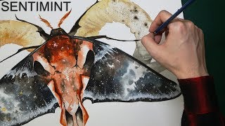 [Watercolor] Curtain Of Evil