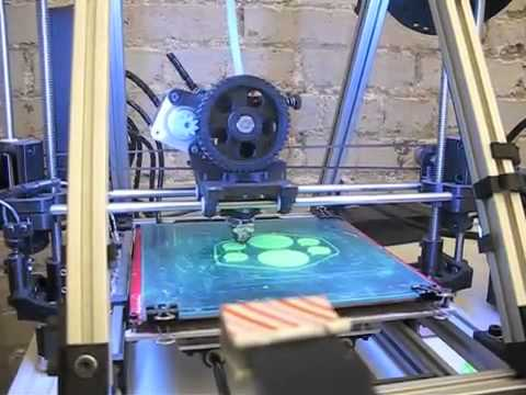 3D printers at HackMemphis 2013
