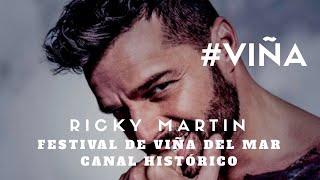 Ricky Martin (en Vivo) -  El Amor de Mi Vida - Festival de Viña del Mar 2007 #VIÑA #RICKYMARTIN