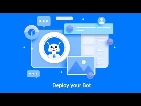 Deploy your bot on your Website - snatchbot.me
