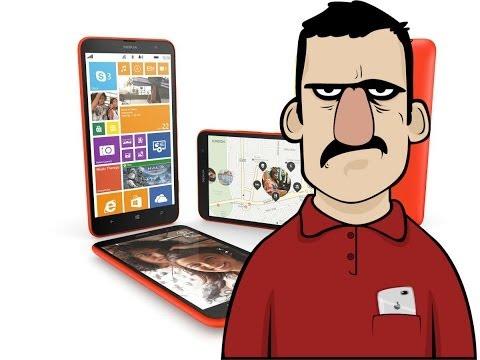 Teknolojiye Atarlanan Adam - Nokia Lumia 1320 incelemesi