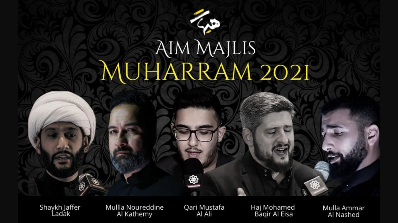 Download AIM Live broadcast from Muharram Majlis - Night 8