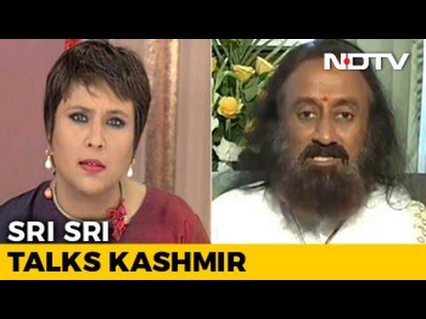 New Kashmir Initiative - What Sri Sri Said To Burhan Wani's Father