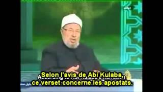 """Sans l'assassinat des Apostats, l'islam n'existerait plus"", selon cheikh Al-Qaradawi"