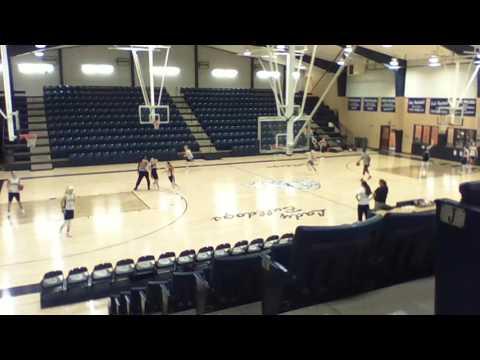 Minco High School Girl Basketball Team (Danielle Gant) (Ray Love)