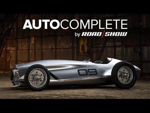 AutoComplete: Infiniti debuts old-school Prototype 9 concept