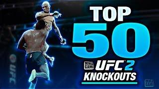 EA SPORTS UFC 2 - TOP 50 UFC 2 KNOCKOUTS - Community KO Video ep. 7