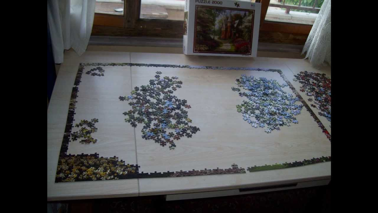 puzzle 2000 pieces youtube. Black Bedroom Furniture Sets. Home Design Ideas