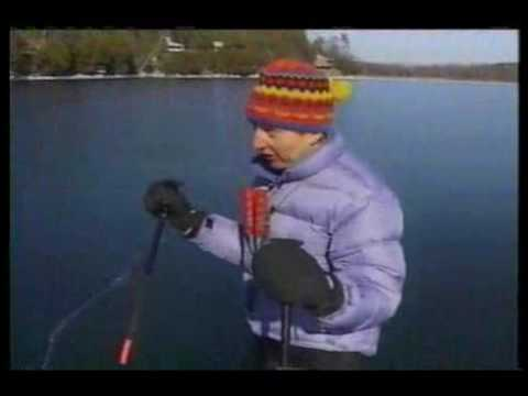 Nordic Skating in Vermont - Lake Champlain & Lake Morey