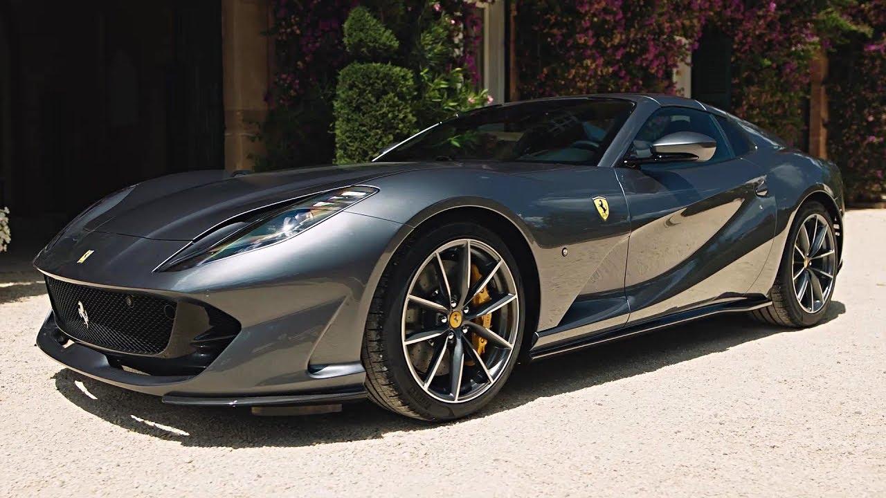 2020 Ferrari 812 Gts V12 Spider Most Powerful Convertible Youtube