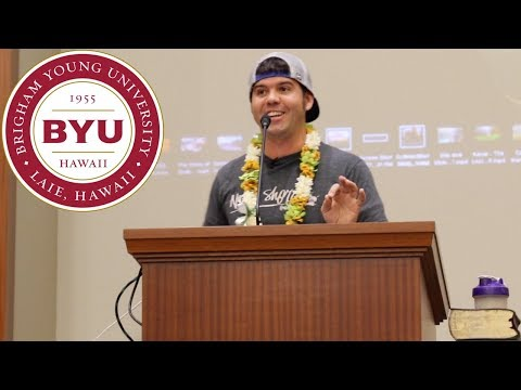 Devin Graham Devotional BYU-Hawaii 2017