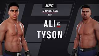 Muhammad Ali vs. Mike Tyson (EA Sports UFC 3) - CPU vs. CPU