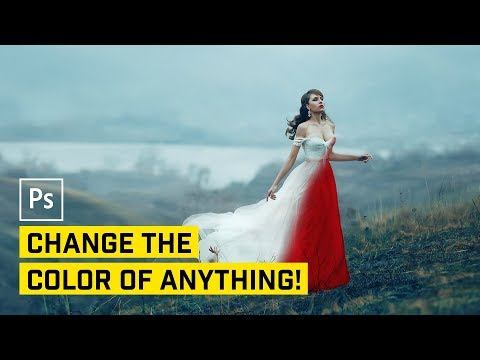 5 Ways to Change the Color of ANYTHING in Photoshop