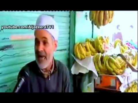 فكهاني مصري يفاجئ قناة الجزيره بكلام سياسي جامد
