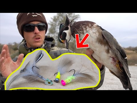Using Hunted Duck Feathers To Make Fishing Lures
