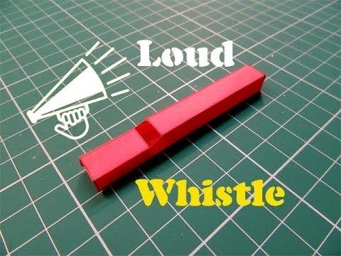 Hoe maak je een Paper Whistle dat werkt heel goed - Easy Tutorials