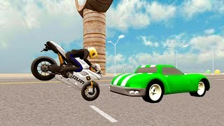Bike Racing Games - Police Bike Driving 3D - Gameplay Android free games