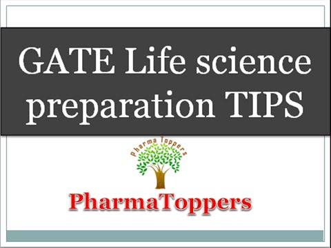 GATE  Life science preparation  TIPS