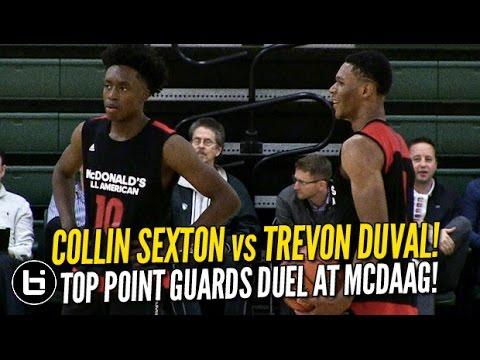 Collin Sexton vs Trevon Duval! Full Highlights McDonald