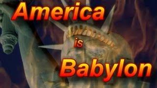 Gambar cover America Is Babylon