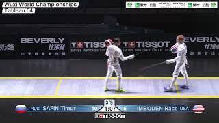 Wuxi 2018 Fencing World Championships mf t04 USA vs RUS