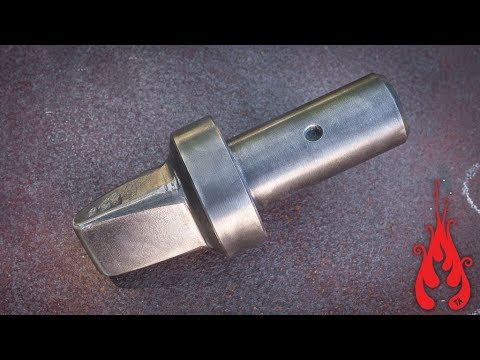 Blacksmithing - Forging a power hammer die
