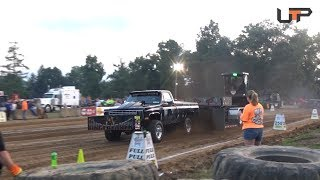 USA EAST PULLING SERIES | CLARION COUNTY FAIR | SUPER STREET GAS 4X4 TRUCKS
