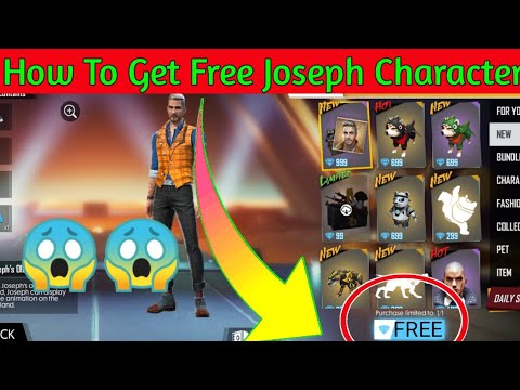 How To Get Free Joseph Character || Free Fire New Upcoming Events