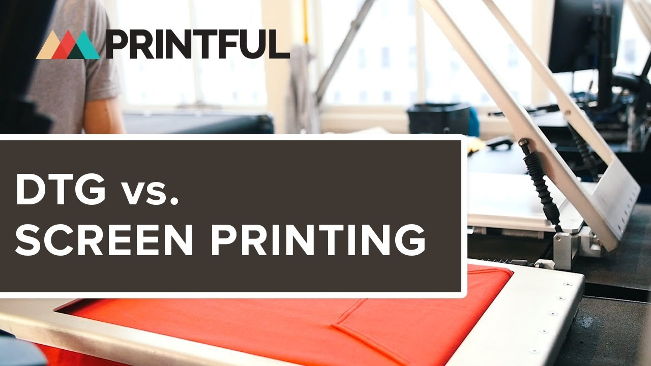 ac9986f20 DTG vs. Screen Printing | Blog - Printful