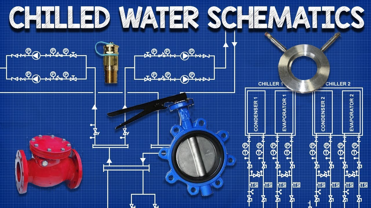 Chilled Water Schematics How To Read Hvac Engineering