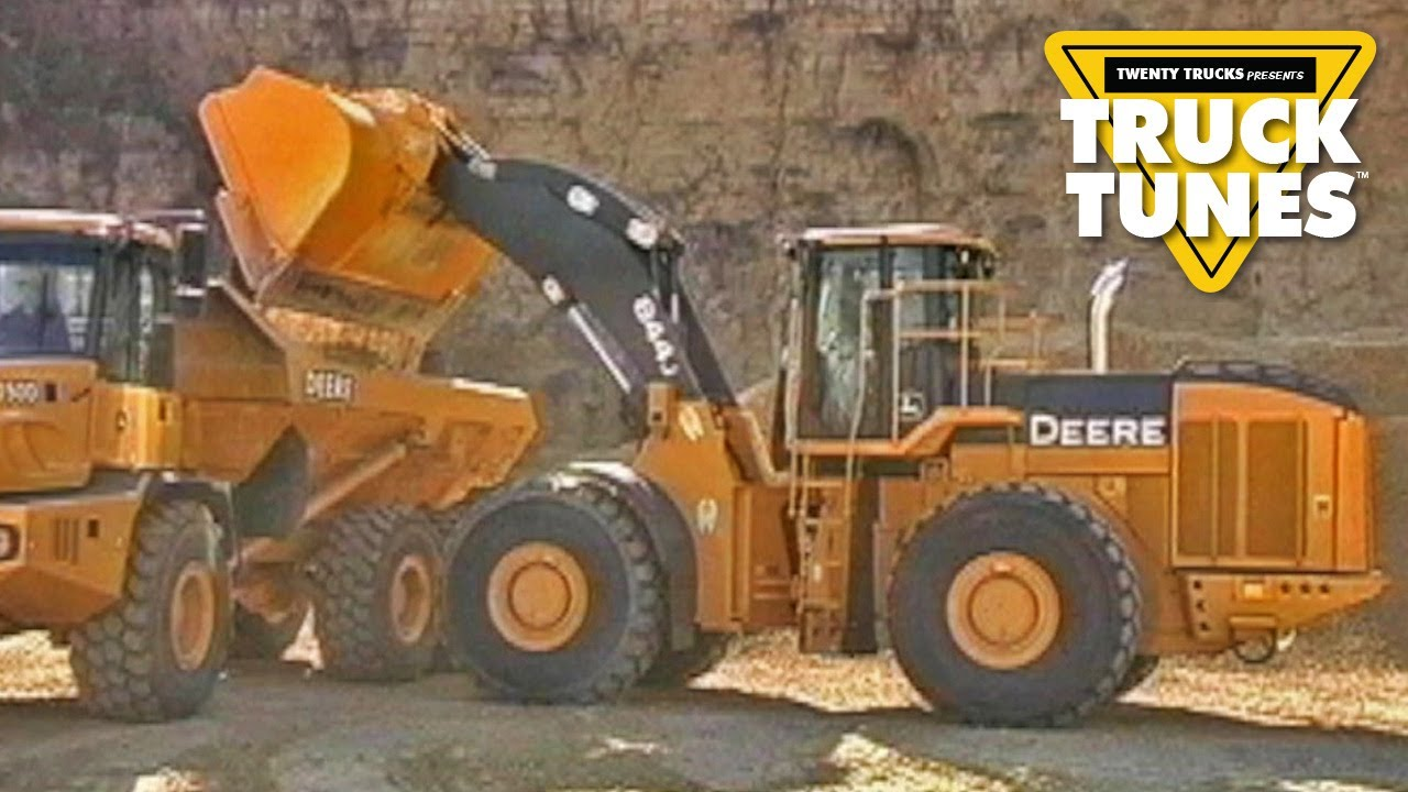 Front End Loader for Children | Truck Tunes for Kids - Front End Loader