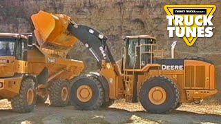 Front End Loader for Children | Truck Tunes for Kids | Twenty Trucks Channel