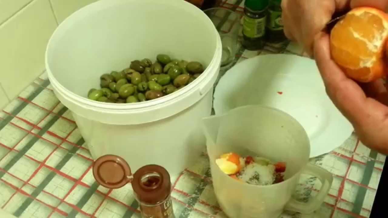 como preparar aceitunas enteras mallorquinas