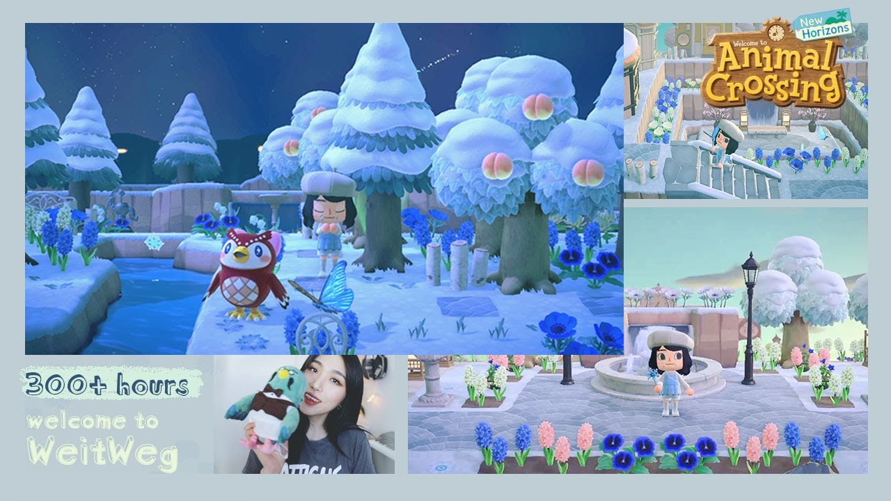 Welcome To My Winter Island 5 Stars 300 Hours Animal Crossing New Horizons Youtube