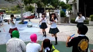 チームB 1万人のエイサー踊り隊 パレット久茂地前ステージ.