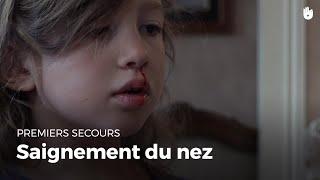 Premiers secours : Saignement du nez | Secourisme
