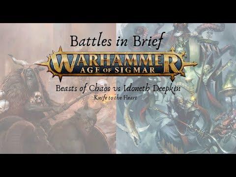 Battles In Brief: Idoneth Deepkin V Beasts Of Chaos