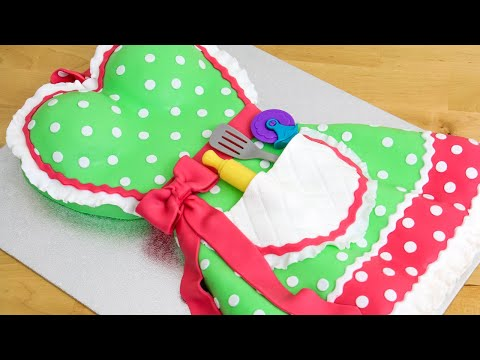how-to-make-a-kitchen-apron-dress-cake-by-cakes-stepbystep