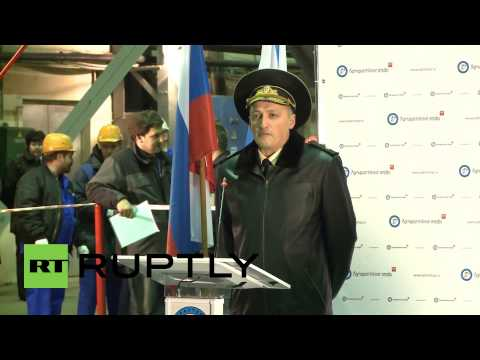 Russia: Novorossiysk electric submarine given lavish blessing