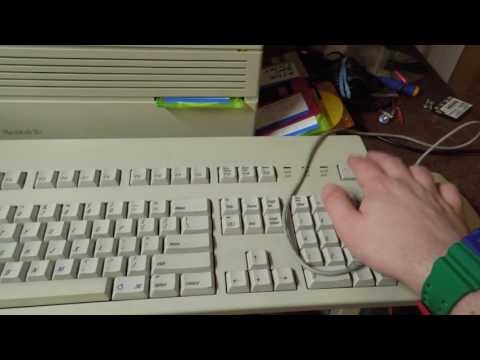 Apple A/UX 3 1 1 on a Macintosh IIci Demonstration