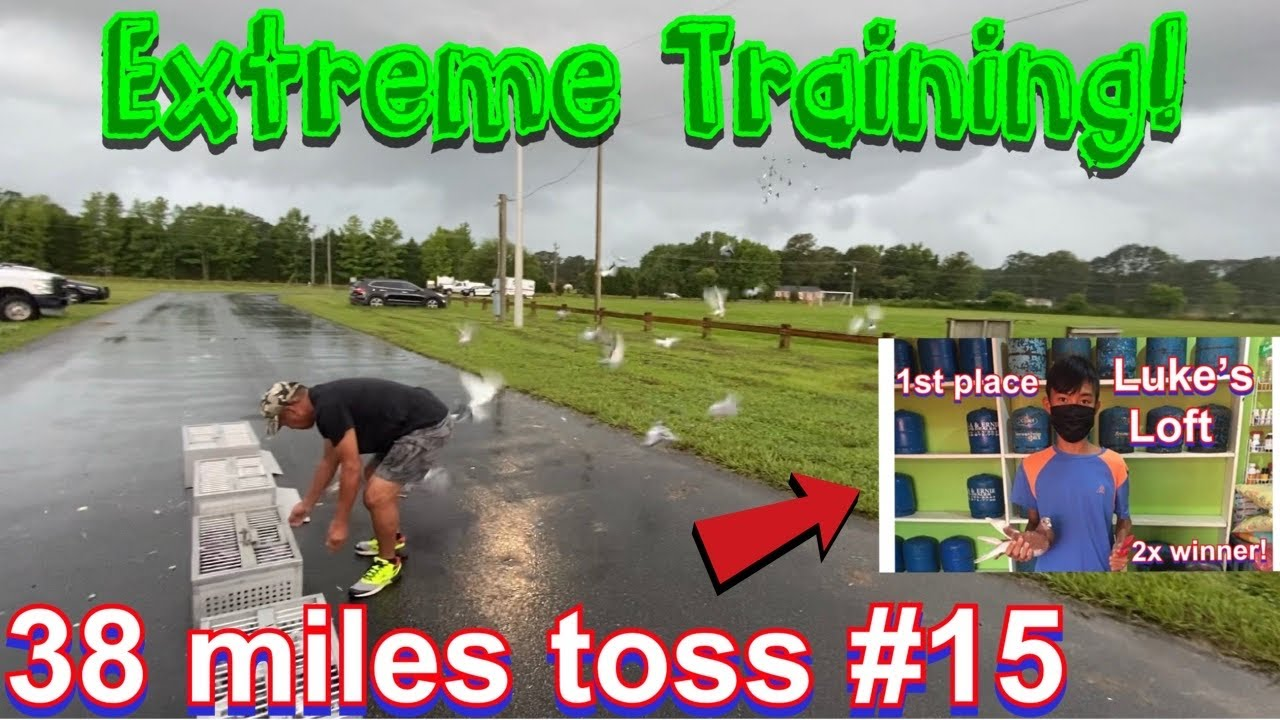 Extreme training toss # 15 - Virginia Beach