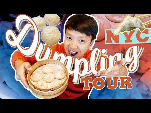BEST DUMPLINGS In New York! Dumpling Tour Of New York City