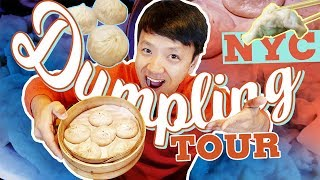 BEST DUMPLINGS in New York! Dumpling Tour of New York City